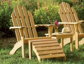 Oxford Garden Shorea Adirondack Chair - Additional Spring Discounts