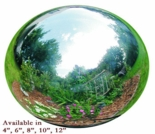 Silver Stainless Steel Globe - Multiple Sizes