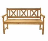 Skipper 5' Teak Bench