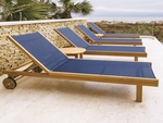 Sling Chaise Lounge Chairs