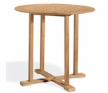 "Oxford Garden Sonoma 36"" Shorea Bar Table - Reduced Closeout Pricing"