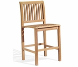 Oxford Garden Sonoma Shorea Bar Sidechair - Reduced Closeout Pricing