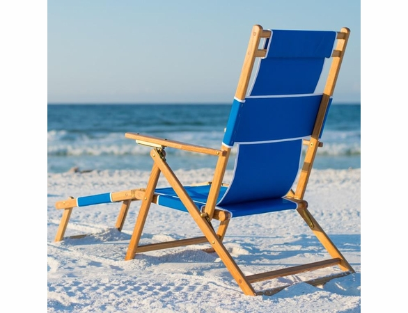 Sunrise Chair Beach Sling Chair and Footrest - Not Currently Available