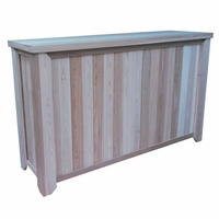Tall Wood Storage Box - 5' - Exclusive Item - Not Currently Available