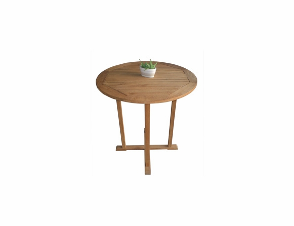"""Teak 39"""" Bar Table - Back in Stock End of July"""
