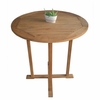 "Teak 39"" Bar Table"