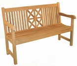 Teak 5' Hestercombe Bench - Currently Out of Stock