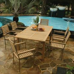 Teak Arlington Dining Set - Currently Out of Stock