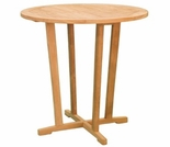 "Teak Charles 36"" Bar Table - Currently Out of Stock"