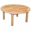 "Teak Charles 39"" Chat Table"