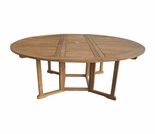 "Teak 60"" or 72"" Drop Leaf Table"