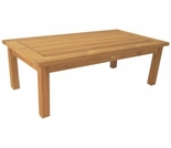 "Teak English Garden 31"" Coffee Table"