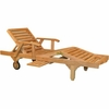 Teak Glenora Chaise Lounge - Currently Out of Stock