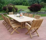 Teak Glenora Dining Set - Currently Out of Stock
