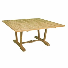 "Teak Hestercombe 60"" Square Dining Table - Currently Out of Stock"