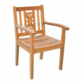 Teak Hestercombe Dining Arm Chair - Currently Out of Stock