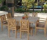 Teak Hestercombe Dining Set - Currently Out of Stock