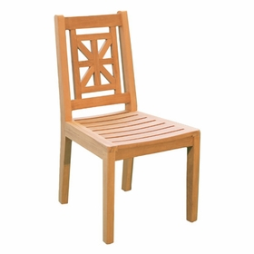 Teak Hestercombe Dining Side Chair - Currently Out of Stock