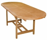 "Teak 72"" or 106"" Kingston Double Extension Table- Not Currently Available"