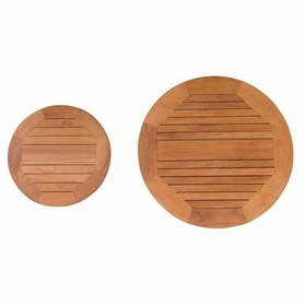 """Teak 16"""" or 24"""" Lazy Susan - Not Currently Available"""