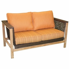 Teak Paramount Loveseat - Soon to be Discontinued - Order while supplies Last