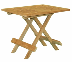 """Teak 20"""" Picnic Table - Currently Out of Stock"""