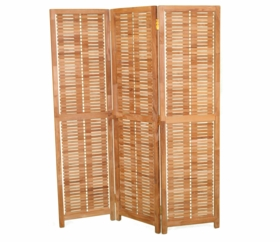 """Teak 57"""" Privacy Screen - Currently Out of Stock"""