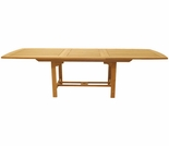 Teak Rectangular Expansion Tables - 3 Sizes