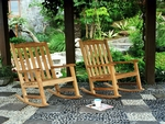 Teak Rocking Chairs