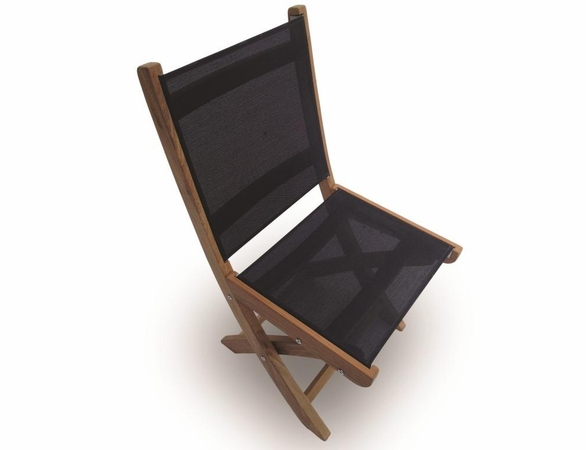 Teak Sailmate Folding Side Chair