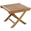 Teak Side Table or Footstool
