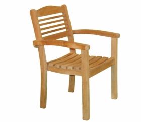Teak Stacking Chair - Currently Out of Stock