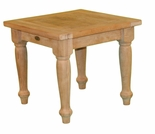 "Teak Taft 21"" Square End Table - Currently Out of Stock"