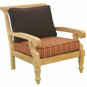 Teak Taft Arm Chair