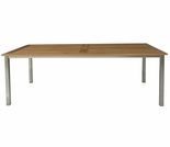 "Three Birds Avanti Teak 72"" Rectangular Dining Table"
