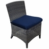 Three Birds Bella Wicker Dining Side Chair