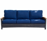 Three Birds Bella Wicker Sofa