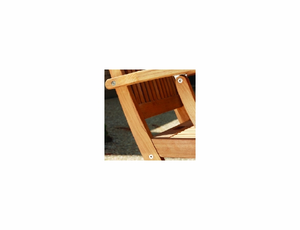 Three Birds Braxton Teak Folding Arm Chair