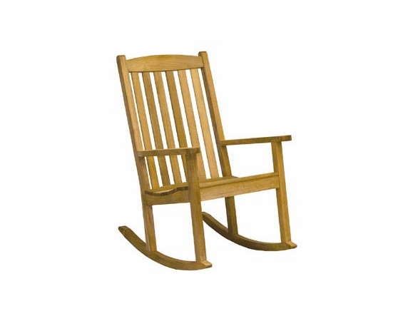 Three Birds Brittany Teak Rocker