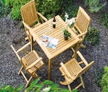 Three Birds Brunswick 5-Piece Dining Set