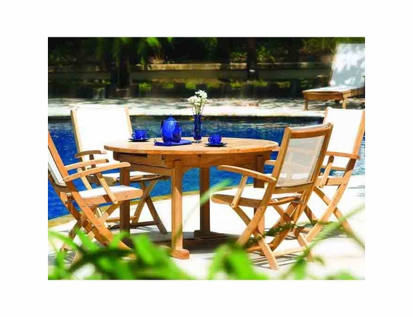 Three Birds Chelsea Riviera Teak Dining Set