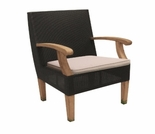 Three Birds Ciera Wicker Dining Arm Chair - Currently Out of Stock