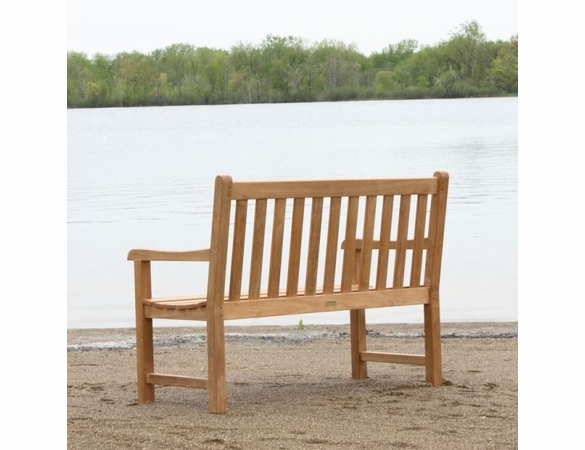 Three Birds Classic Teak 4' Garden Bench