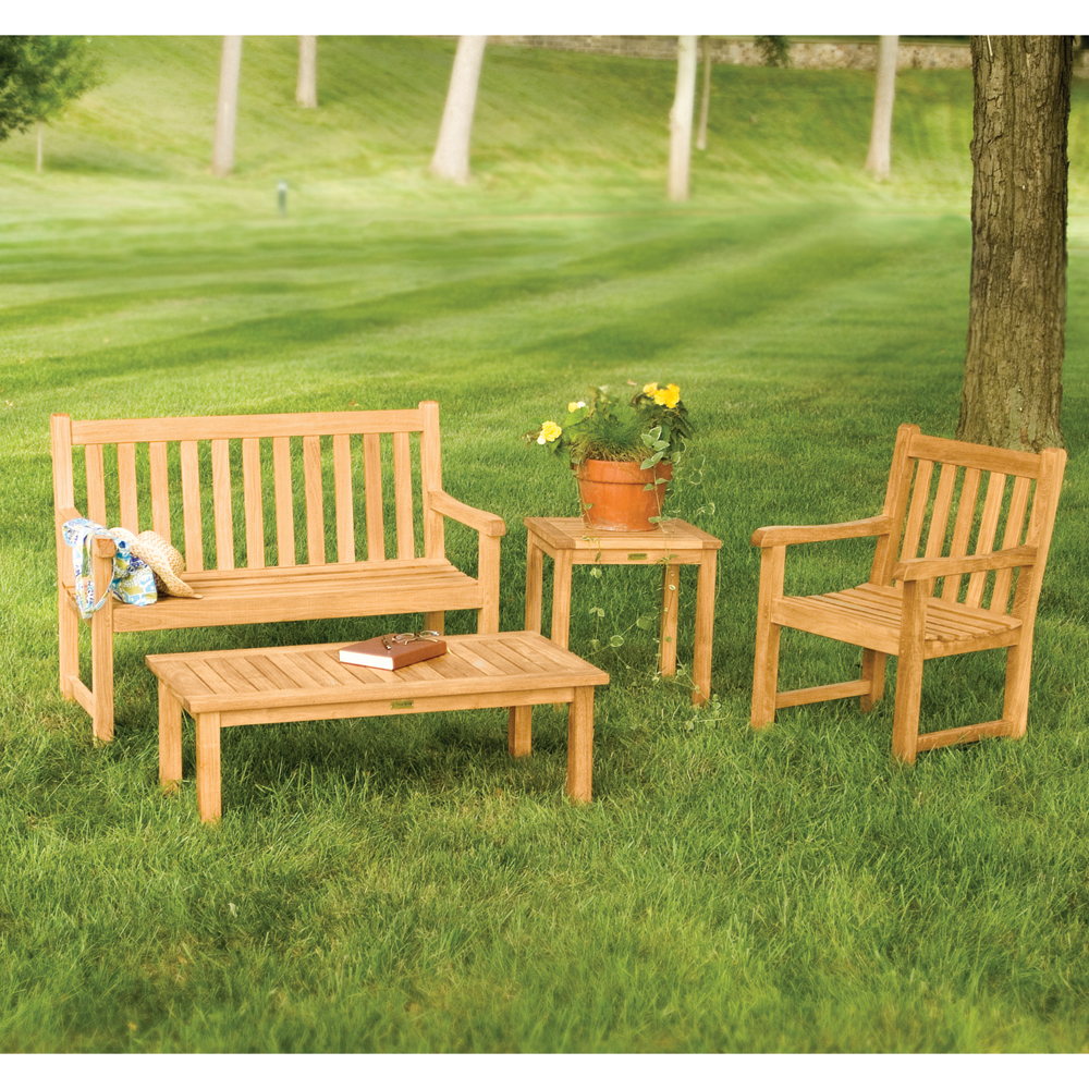Classic 5 Teak Garden Bench Outdoorfurnitureplus Com