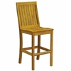 Three Birds Monterey Teak Bar Chair
