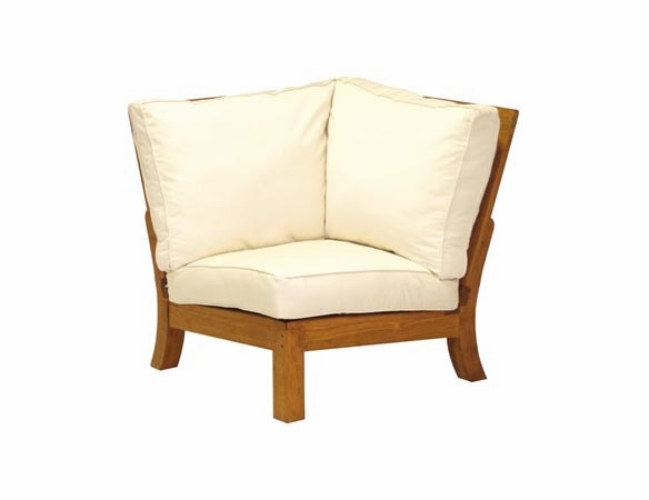 Three Birds Monterey Teak Sectional Corner Chair