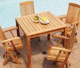 Three Birds Newport 5-Piece Dining Set