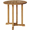 "Three Birds Oxford Teak 36"" Round Bar Table"