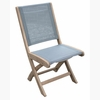 Three Birds Riviera Teak Folding Side Chair