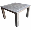"Three Birds Shelburne Teak 44"" Square Dining Table"